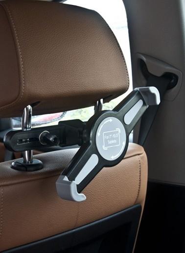 Bludfire TT-1 Araç içi Koltuk Arkası Unıversal Tablet Tutucu Siyah